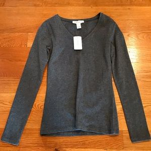 NWT!! Charcoal long sleeve